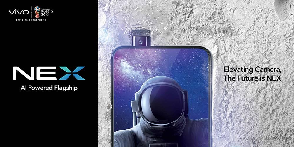 Vivo Unveils The World's First All-Screen Smartphone: Vivo Nex