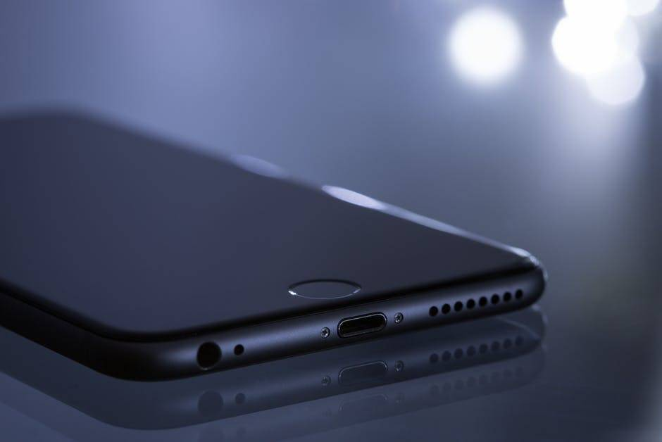 A close up of a phone